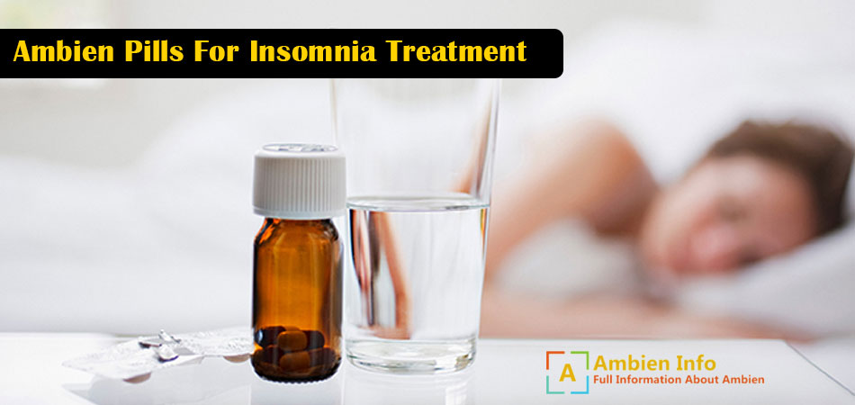 Ambien Pills For Insomnia Treatment