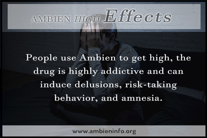 Ambien High Effects